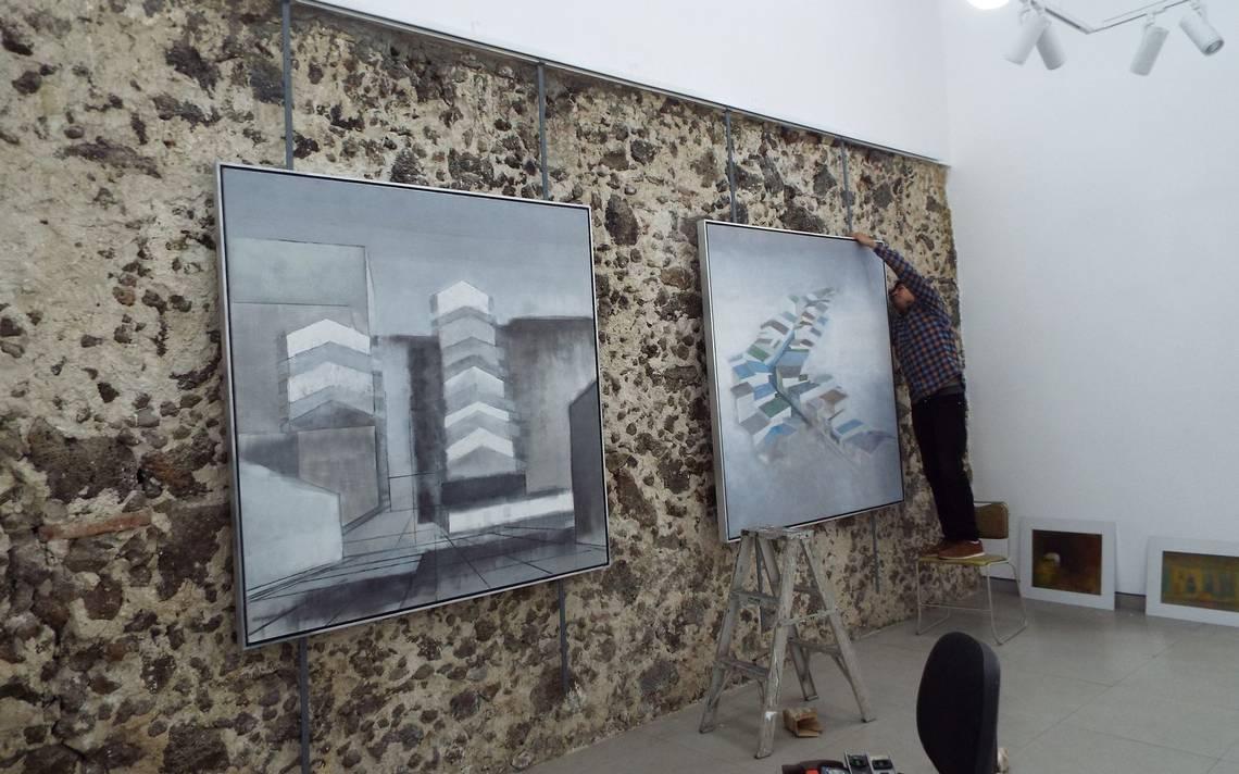 Obra del pintor Enrique Murillo, en la Galería Alva de la Canal - Diario de Xalapa