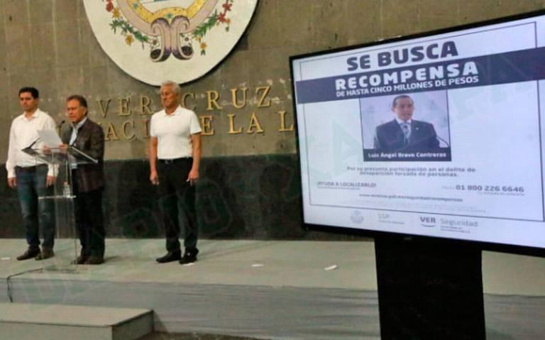 Veracruz: OFRECEN 5 millones por CAPTURA del ex fiscal LuisÁngelBravo. Noticias en tiempo real