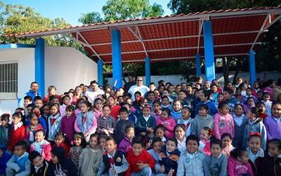 Entregan comedor escolar en Actopan - Diario de Xalapa