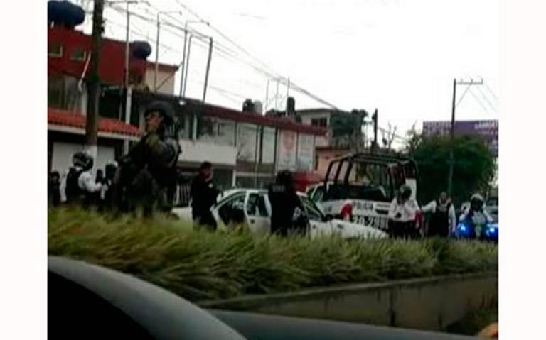 PERSECUCIÓN y BALACERA en zona de CAXA deja a 4 DETENIDOS en Xalapa, Veracruz. Noticias en tiempo real